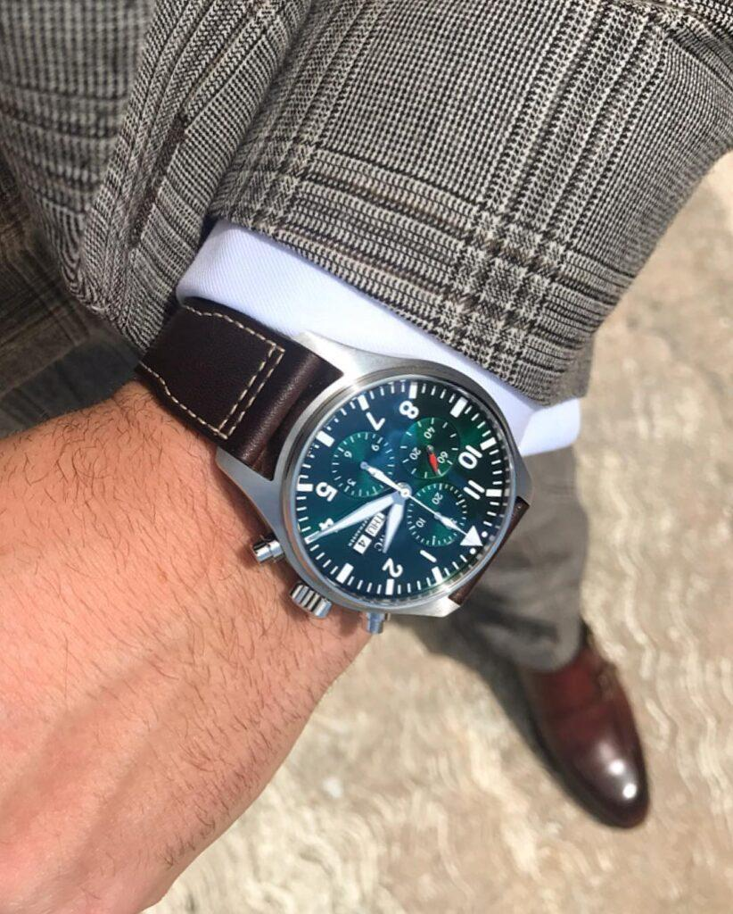 IWC Pilot's Watch Chronograph Edition Racing Green