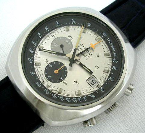 Alpina Startimer Pilot Heritage Chronograph Monopusher