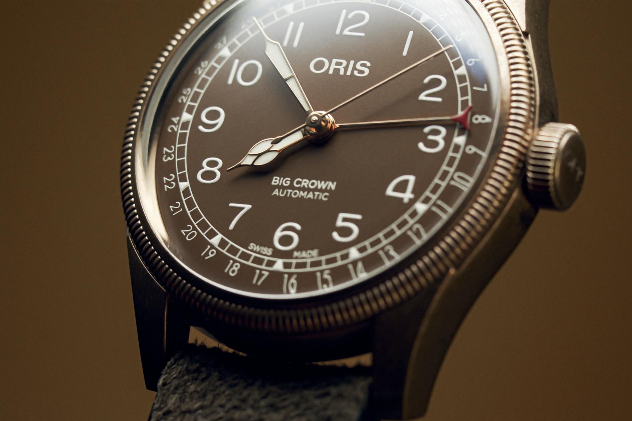 Oris Big Crown Bronze Pointer Date 40mm