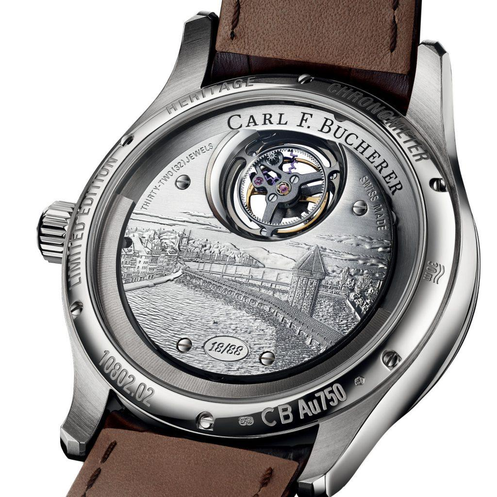 Carl F. Bucherer Heritage Tourbillon Double Peripheral