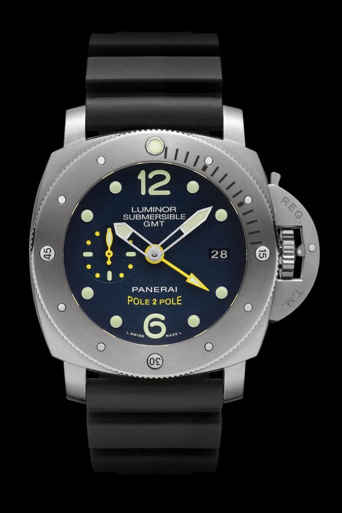 "Panerai Luminor PAM00719 Submersible 1950 3 Days GMT ""Pole2Pole"""