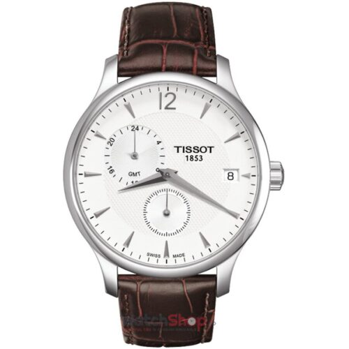 Ceas Tissot T-CLASSIC T063.639.16.037.00 Tradition Dual Time GMT